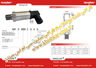 طراحی گرافیک کاتالوگ محصولات برای شرکت اتوماسیون صنعتی هاگلر آلمان.