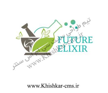 لوگوی سایت شرکت بازرگانی Futurelixir