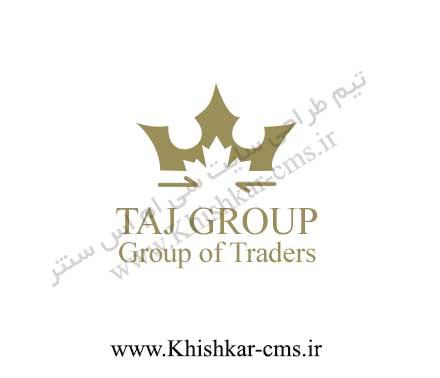 طراحی لوگوی شرکت بازرگانی ترکیه ای تاجگروپ